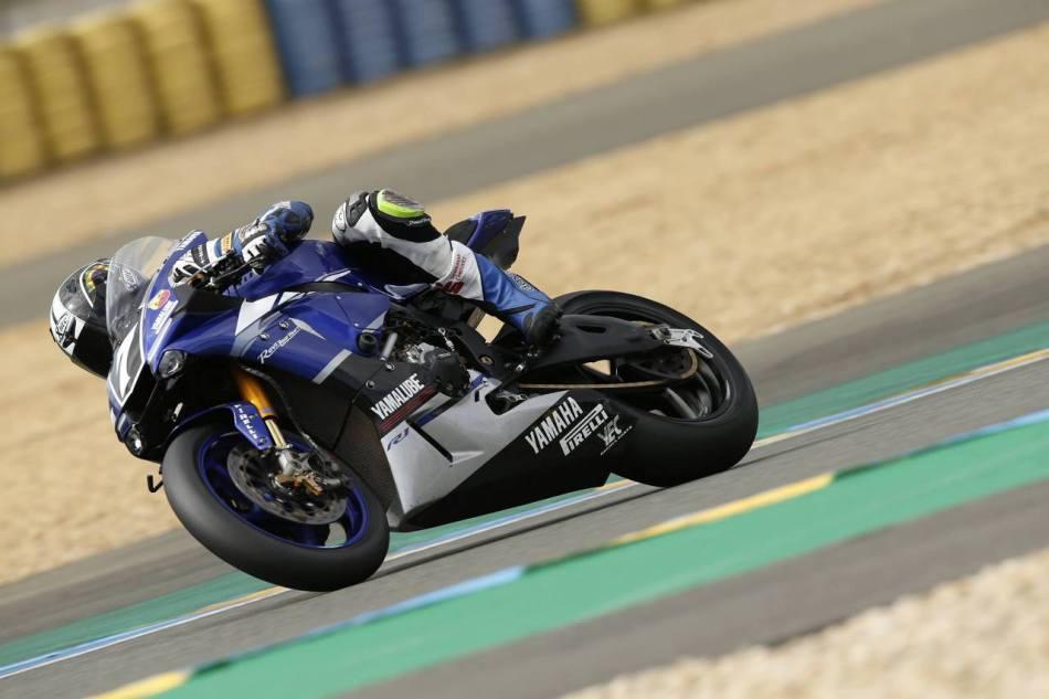 EWC. Yamaha третья в квалификации в Ле-Мане