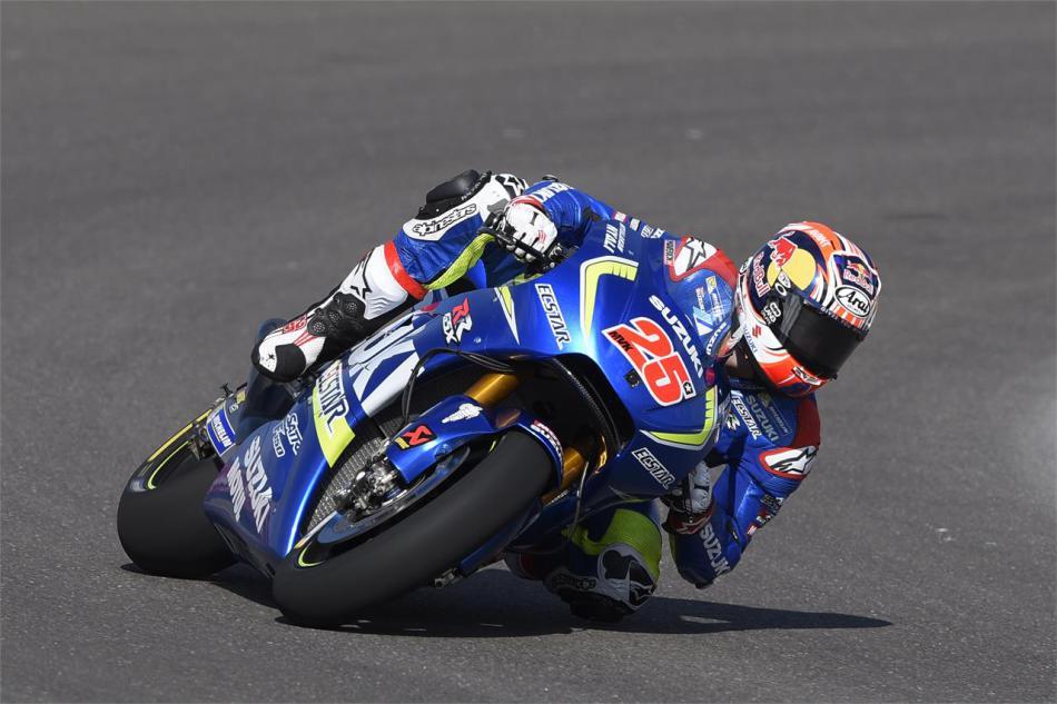 MotoGP. SUZUKI ECSTAR сильна в пятницу в ГП Аргентины