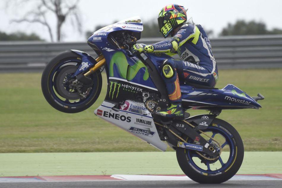 MotoGP. Movistar Yamaha: двойной старт в первом ряду в Аргентине